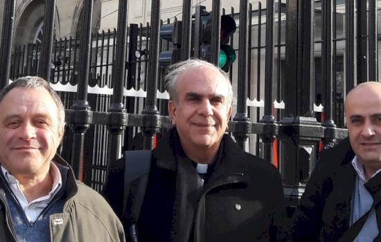 """الأب جمال دعيبس في زيارة إلى فرنسا: """"لمدارسنا تاريخ مميز من الحضور في فلسطين"""""""