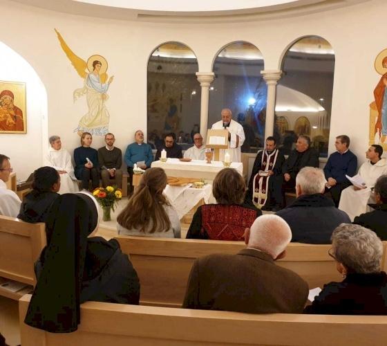 Prière pour l'Unité des Chrétiens à Nazareth