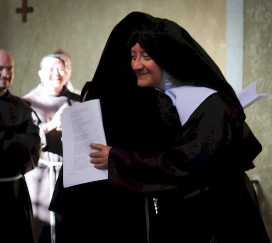 Le Clarisse di Gerusalemme celebrano la Professione Solenne di suor Guadalupe de Dios