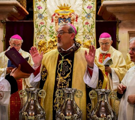 INVITO: Messa Crismale nella Basilica delle Nazioni al Getsemani