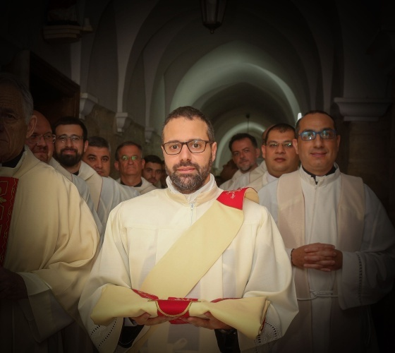 """Fr. Firas Abedrabbo: """"The 'time' factor is very important for discernment. Letting time pass matures a decision"""""""