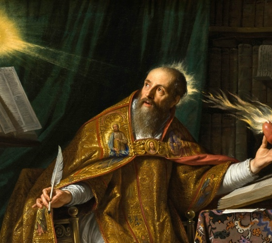 القديس أغسطينوس أسقف هيبو، أحد آباء وملافنة الكنيسة