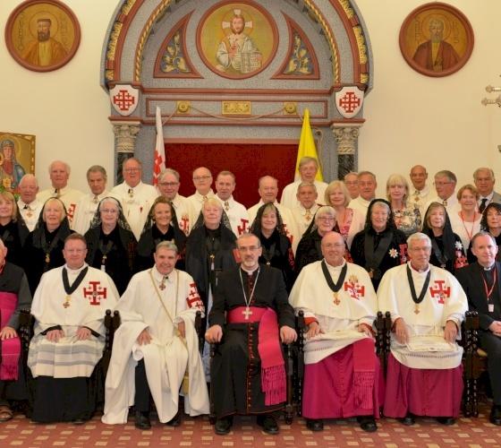 El agradecimiento de Mons. Pizzaballa a la Orden del Santo Sepulcro