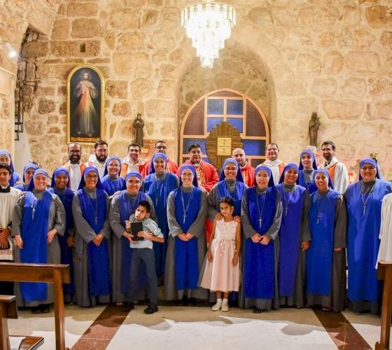 25 años de fundación de las Servidoras del Señor y de la Virgen de Matará en Tierra Santa