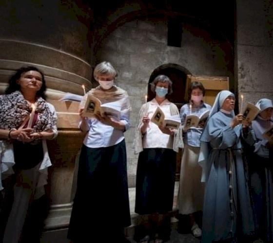 La Communauté Loyola prie pour les jeunes de l'Eglise de Jérusalem