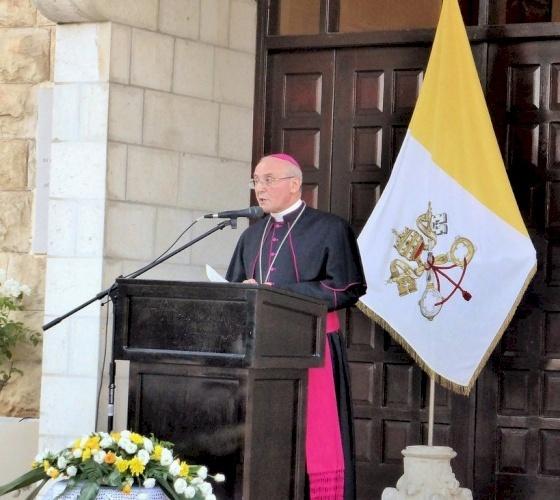 New Latin Patriarch: statement of Apostolic Delegation of Jerusalem