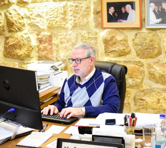 Christmas reflections of Mr. Sami El-Yousef from the Holy Land