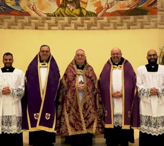 Cuatro seminaristas del Patriarcado Latino admitidos como candidatos a la ordenación diaconal