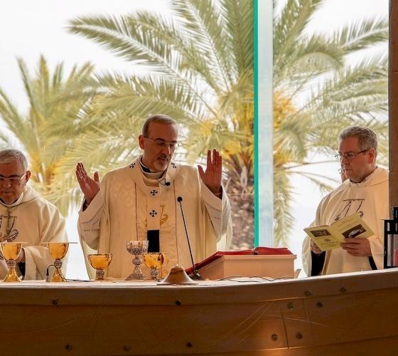 Celebrazione della festa di Santa Maria Maddalena a Magdala