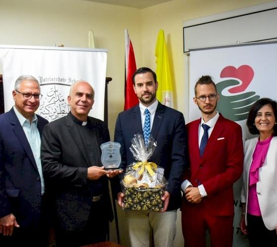 L'administration des écoles du Patriarcat latin remercie le Gouvernement hongrois pour son soutien durant la pandémie de COVID-19