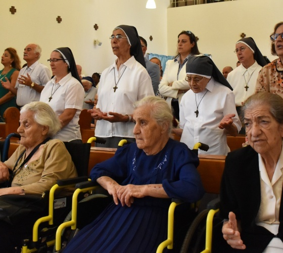 Message of His Holiness Pope Francisfor the First World Day for Grandparents and the Elderly