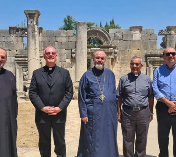 Apostolic Nunciature Counselor visits depopulated Christian villages in Galilee