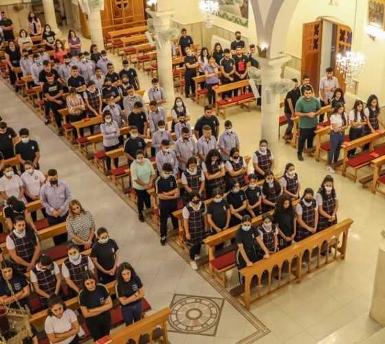 Preghiera delle Suore di San Giuseppe dell'Apparizione per il nuovo anno accademico 2021 - 2022