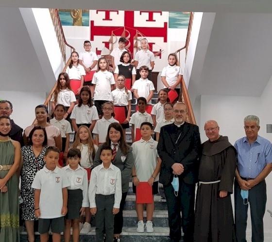 Le Patriarche Pizzaballa en visite pastorale à Chypre