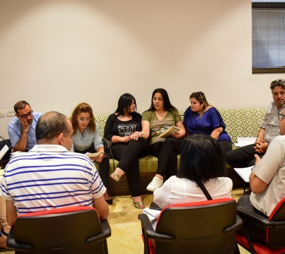 Latin Patriarchate organizes safeguarding training for its employees