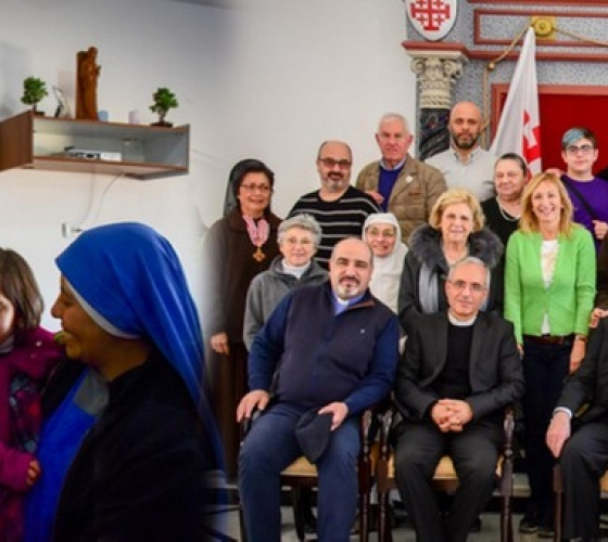 Cardinal O'Brien leads a Grand Magisterium pilgrimage to the Holy Land