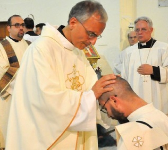 Ordination of Benedetto Di Bitonto: when joy goes beyond borders!