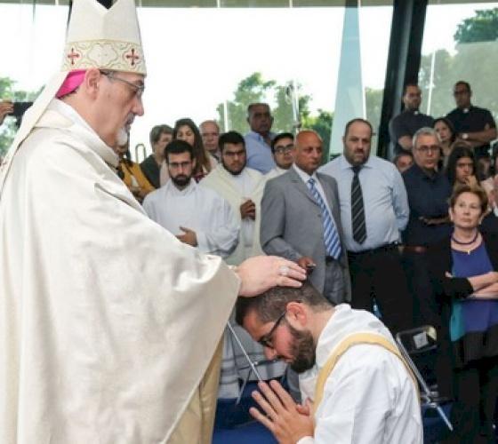 Priestly Ordination of Javier Martinez Alcalà in Galilee