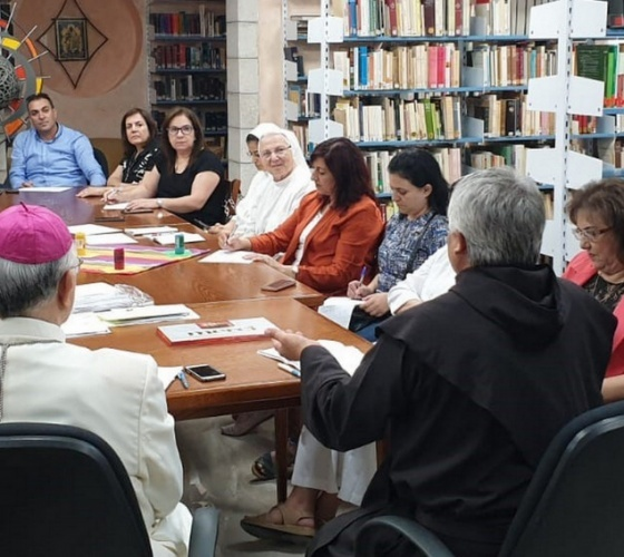 """Church of the Holy Land prepares for the """"extraordinary missionary month, October 2019"""""""