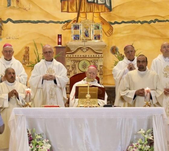 Le Jubilé de diamant de Mgr Salim Sayegh a été célébré au Centre Regina Pacis à Amman