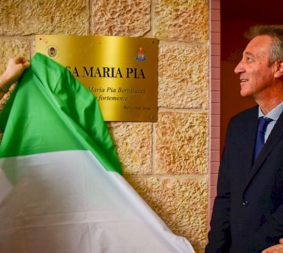 Bethlehem branch of Misericordia named after Maria Pia Bertolucci
