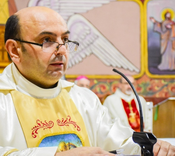 Fr. Gabriel Romanelli, Parish Priest of Holy Family, talks about Christian community in Gaza