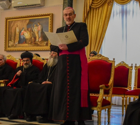 Le Patriarcat latin présente ses vœux de Noël au Patriarcat grec-orthodoxe