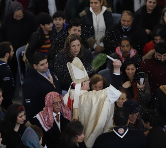الكنائس الكاثوليكية تحيي يوم الحج السنوي العشرين إلى موقع المعمودية