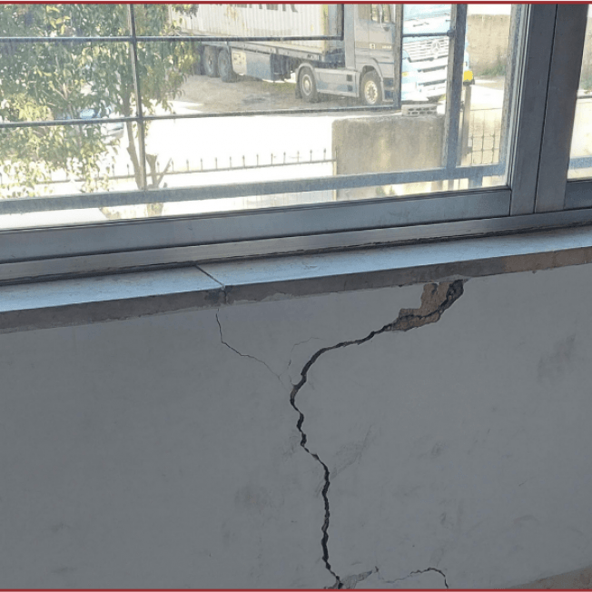 GA 282/21 Cracks Repairs at Marj El Hamam Parish