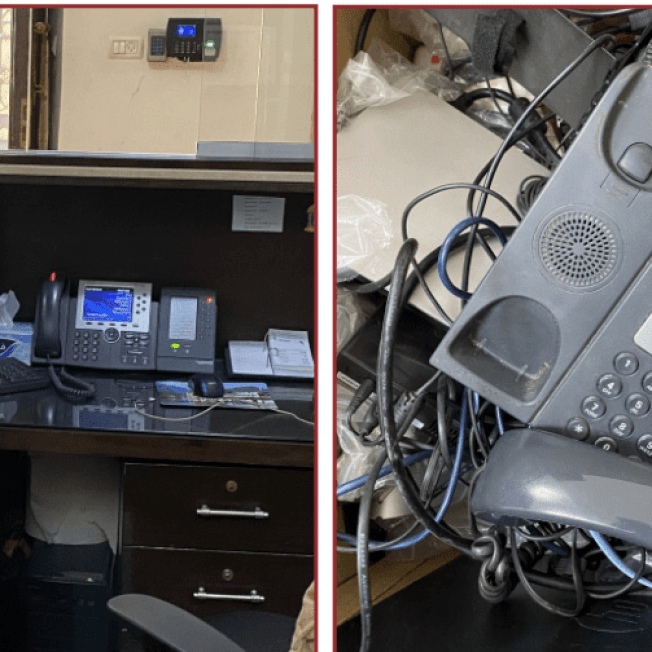 GA 272/21 Replacement of the Obsolete Central Switchboard  Telecom Project Palestine