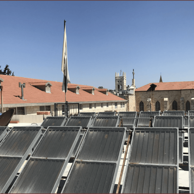 GA 266/21  Seminary Energy Saving System for Hot Water Heaters  and Piping Network Palestine