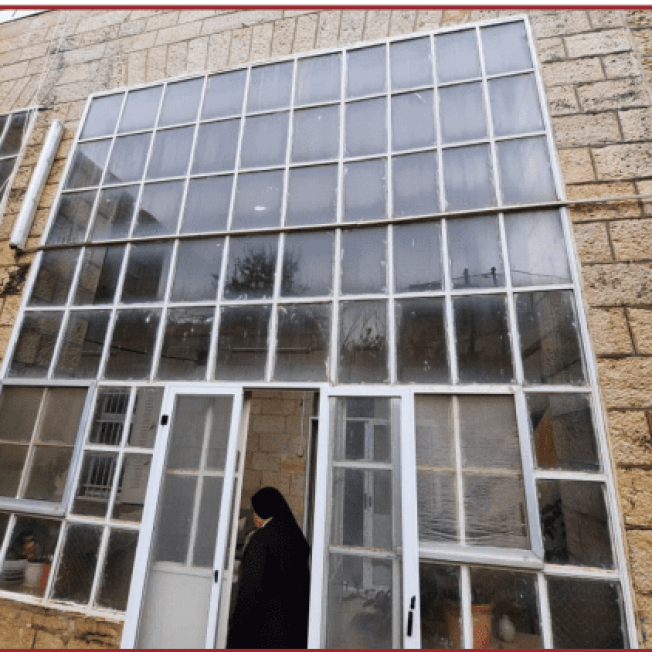 GA 262/21  Rosary Sisters House Rehabilitation  in Birzeit Palestine