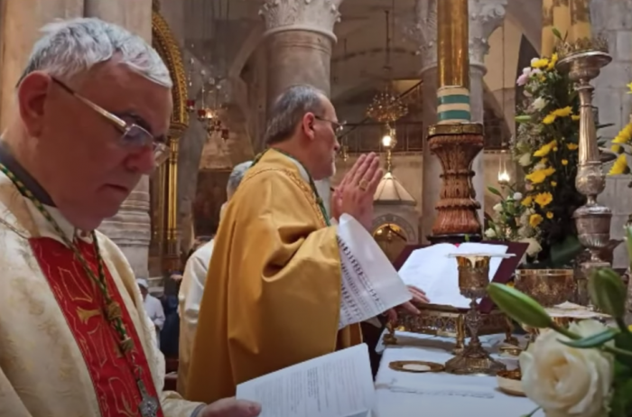 Solemnity of Corpus Christi 2020 | Basilica of the Holy Sepulcher