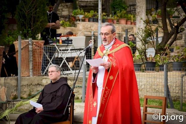 Dimanche des Rameaux 2020 : Message de Mgr Pierbattista Pizzaballa