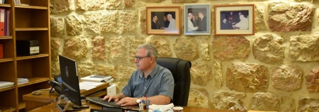 Mr. Sami El-Yousef; first lay person to assume position of Chief Executive Officer of the Latin Patriarchate