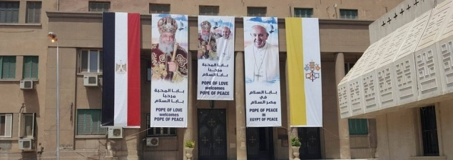 """Archbishop Pizzaballa on Pope's Egypt visit: """"Pope Francis tells the Church not to be afraid"""""""