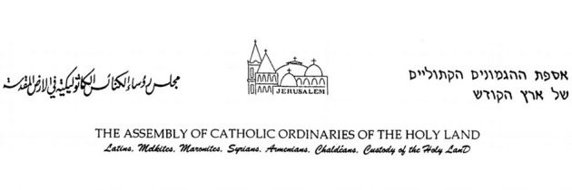 Assembly of Catholic Ordinaries calls for prayer for peace and justice in the Holy Land and world