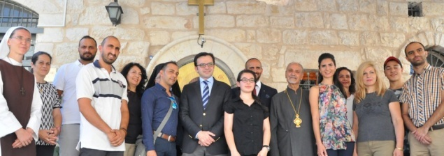 Palestinian Culture Minister highlights support for Bethlehem Icon Center