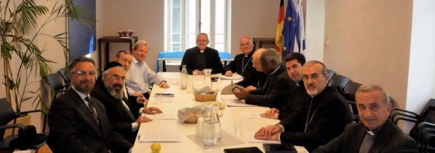 La Commission pontificale pour les relations religieuses avec le judaïsme rencontre les chefs du rabbinat israëlien