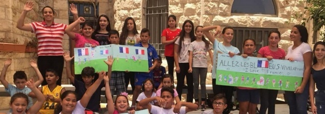 Make France beat in Palestinians' hearts : summer camps in French language