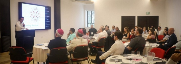 Latin Patriarchate holds restructuring workshop with Deloitte Consulting