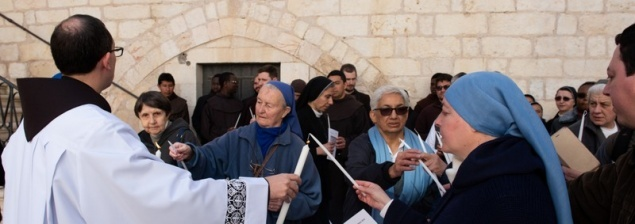 Religious men and women celebrate gift of consecration in Jerusalem