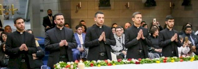 Celebración del admissio ad ordines en el Seminario Redemptoris Mater de Galilea