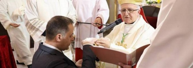 """Bishop Shomali: """"The parishes of Jordan welcome with enthusiasm the institution of Acolytes for lay people!"""""""