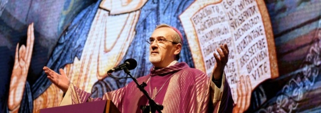 """Archbishop Pizzaballa in Rimini: """"Pray for Gaza and for the Christians who live there"""""""