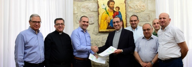 New E-learning and E-teaching platform agreement signed for Latin Patriarchate Schools