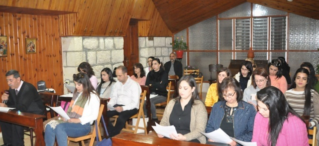 Advent: Catechetical Office of LPJ organizes spiritual retreat for Christian teachers in Bethlehem and Ramallah