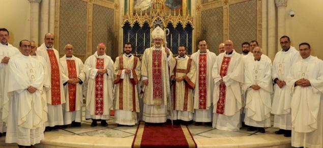 Il seminario patriarcale latino di Beit Jala celebra l'ordinazione diaconale dell'accolito Wajdi Twal