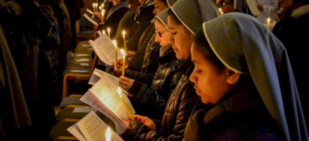 Religious communities celebrate Consecrated Life at St. Peter in Gallicantu