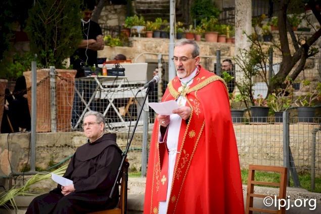 Palm Sunday 2020: Message of Archbishop Pierbattista Pizzaballa
